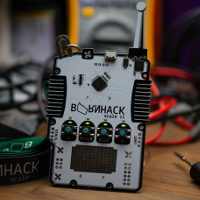 The BornHack 2018 badge